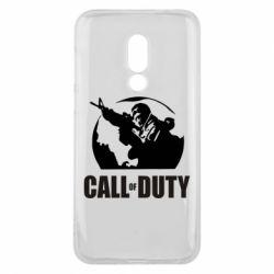 Чехол для Meizu 16 Call of Duty Logo - FatLine