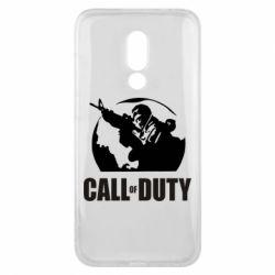 Чехол для Meizu 16x Call of Duty Logo - FatLine