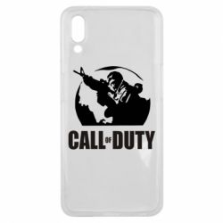 Чехол для Meizu E3 Call of Duty Logo - FatLine