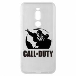 Чехол для Meizu Note 8 Call of Duty Logo - FatLine