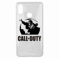 Чехол для Xiaomi Mi Max 3 Call of Duty Logo
