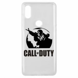 Чехол для Xiaomi Mi Mix 3 Call of Duty Logo