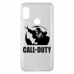 Чехол для Xiaomi Redmi Note 6 Pro Call of Duty Logo