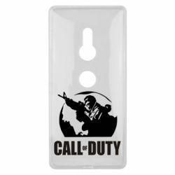 Чехол для Sony Xperia XZ2 Call of Duty Logo - FatLine