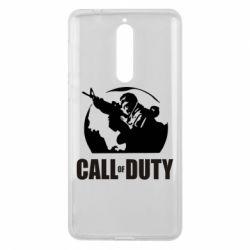 Чехол для Nokia 8 Call of Duty Logo - FatLine