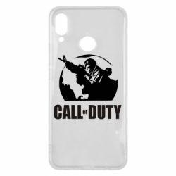 Чехол для Huawei P Smart Plus Call of Duty Logo - FatLine
