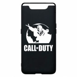 Чохол для Samsung A80 Call of Duty логотип