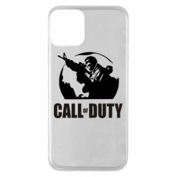 Чохол для iPhone 11 Call of Duty логотип