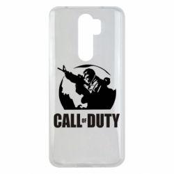 Чехол для Xiaomi Redmi Note 8 Pro Call of Duty Logo