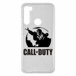 Чехол для Xiaomi Redmi Note 8 Call of Duty Logo