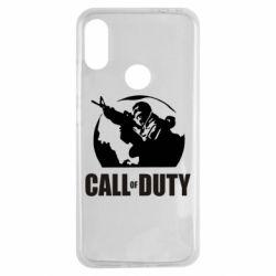 Чехол для Xiaomi Redmi Note 7 Call of Duty Logo