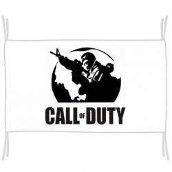 Прапор Call of Duty логотип