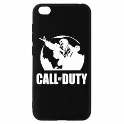 Чехол для Xiaomi Redmi Go Call of Duty Logo