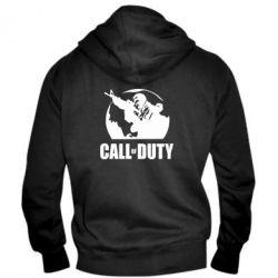 Мужская толстовка на молнии Call of Duty Logo - FatLine