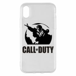 Чохол для iPhone X/Xs Call of Duty логотип