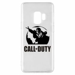 Чохол для Samsung S9 Call of Duty логотип