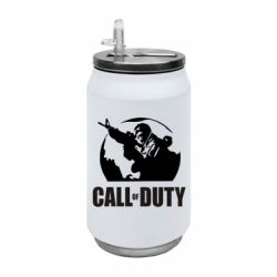Термобанка 350ml Call of Duty логотип