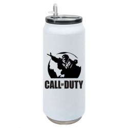 Термобанка 500ml Call of Duty логотип