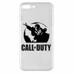 Чохол для iPhone 8 Plus Call of Duty логотип