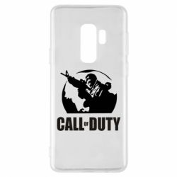 Чохол для Samsung S9+ Call of Duty логотип