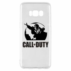 Чохол для Samsung S8 Call of Duty логотип