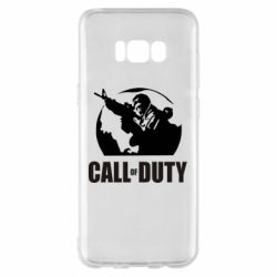 Чохол для Samsung S8+ Call of Duty логотип
