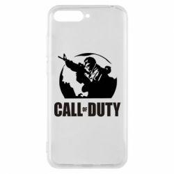 Чехол для Huawei Y6 2018 Call of Duty Logo - FatLine