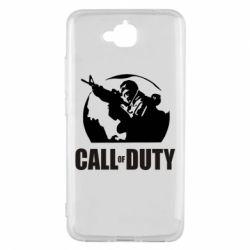Чехол для Huawei Y6 Pro Call of Duty Logo - FatLine