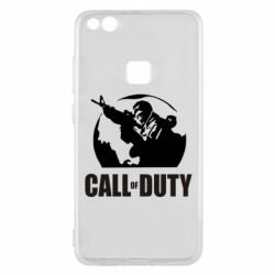 Чехол для Huawei P10 Lite Call of Duty Logo - FatLine