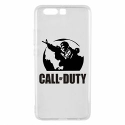 Чехол для Huawei P10 Plus Call of Duty Logo - FatLine