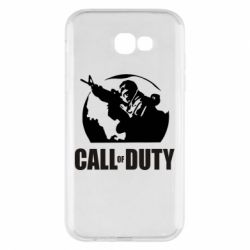 Чохол для Samsung A7 2017 Call of Duty логотип