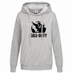 Женская толстовка Call of Duty Logo