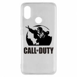 Чехол для Xiaomi Mi8 Call of Duty Logo