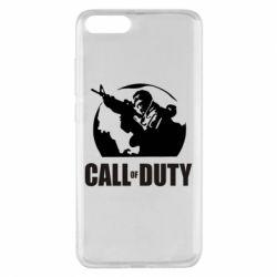 Чехол для Xiaomi Mi Note 3 Call of Duty Logo