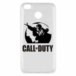 Чехол для Xiaomi Redmi 4x Call of Duty Logo - FatLine