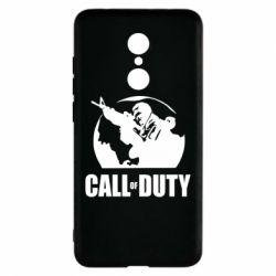 Чехол для Xiaomi Redmi 5 Call of Duty Logo - FatLine