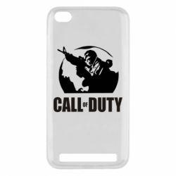 Чехол для Xiaomi Redmi 5a Call of Duty Logo - FatLine