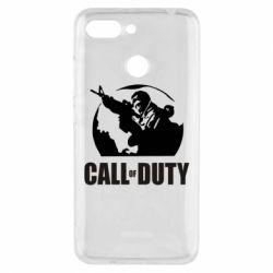 Чехол для Xiaomi Redmi 6 Call of Duty Logo - FatLine