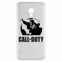 Чехол для Meizu M5s Call of Duty Logo - FatLine