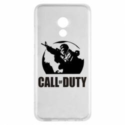 Чехол для Meizu Pro 6 Call of Duty Logo - FatLine