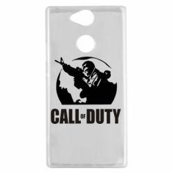 Чехол для Sony Xperia XA2 Call of Duty Logo - FatLine