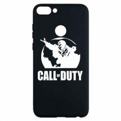 Чехол для Huawei P Smart Call of Duty Logo - FatLine