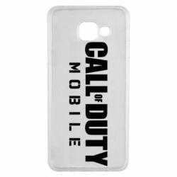 Чехол для Samsung A3 2016 Call of Duty Mobile