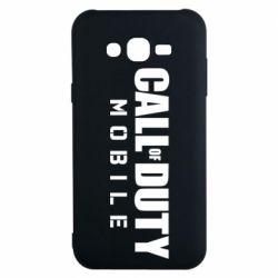 Чехол для Samsung J7 2015 Call of Duty Mobile