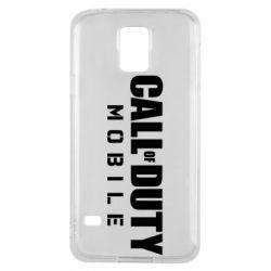 Чехол для Samsung S5 Call of Duty Mobile
