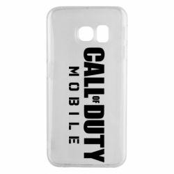 Чехол для Samsung S6 EDGE Call of Duty Mobile
