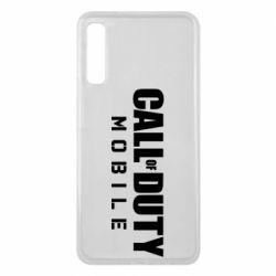 Чехол для Samsung A7 2018 Call of Duty Mobile