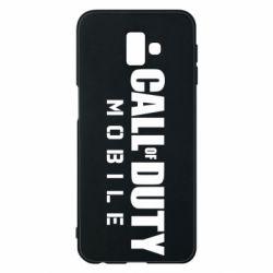 Чехол для Samsung J6 Plus 2018 Call of Duty Mobile