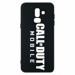 Чехол для Samsung J8 2018 Call of Duty Mobile