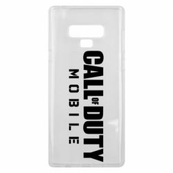 Чехол для Samsung Note 9 Call of Duty Mobile